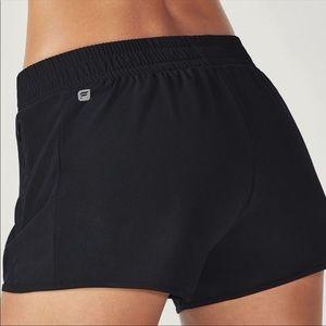 Fabletics Black Fallon Shorts M